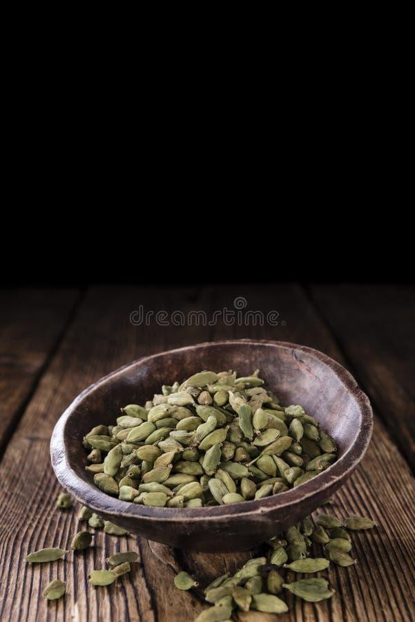 Семена Cardamon стоковое фото rf