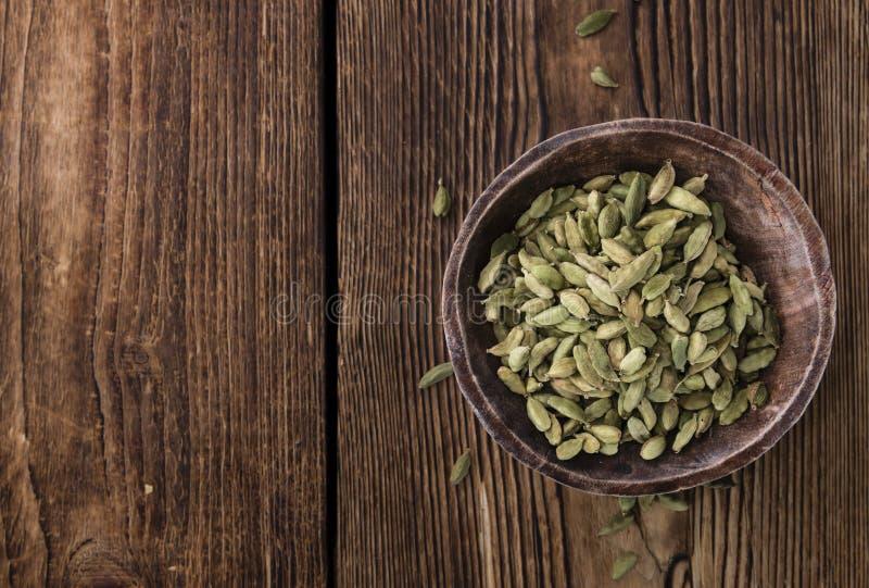 Семена Cardamon стоковое изображение rf