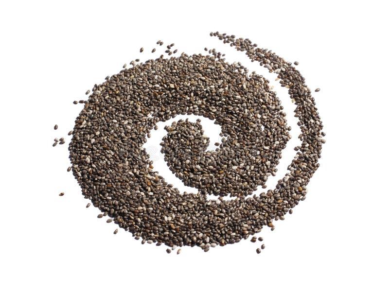 Семена Chia стоковые изображения rf