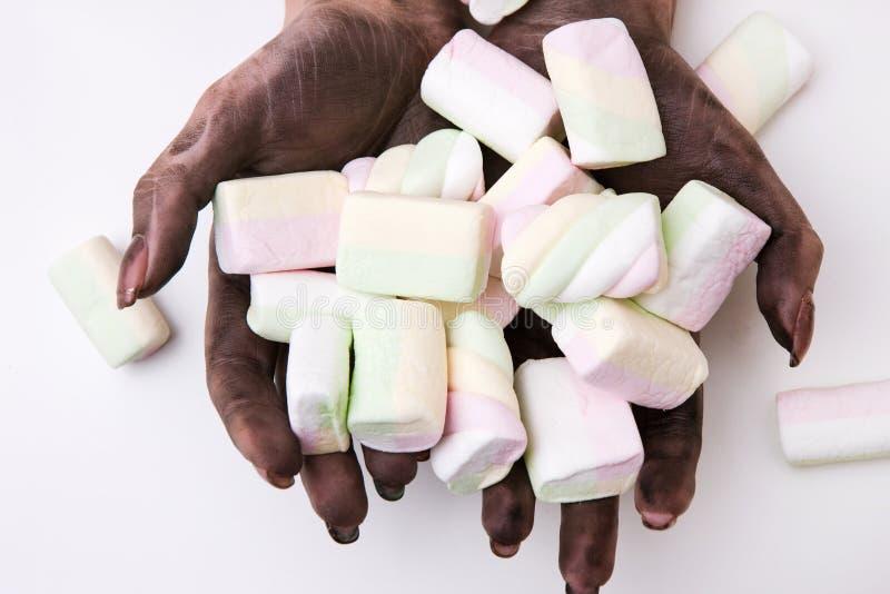 Семенозачатки гигиены руки пищевого отравления пакостные стоковое изображение