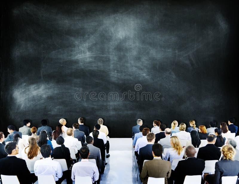 Семинара встречи бизнесмены концепции конференции корпоративной стоковые изображения rf