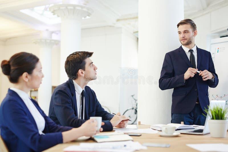 Семинар для менеджеров стоковое изображение