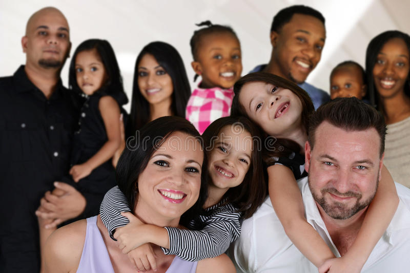 Семьи стоковая фотография rf