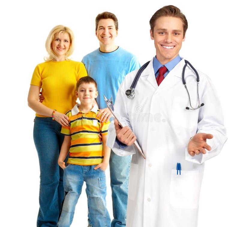 семья доктора медицинская стоковые фото