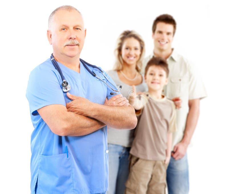 семья доктора стоковые фотографии rf