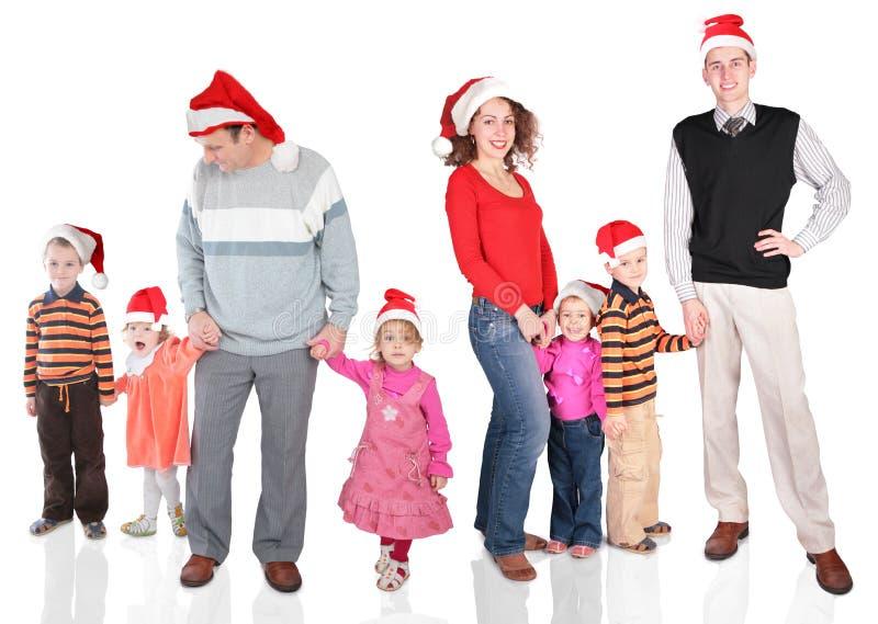 семья рождества стоковое фото