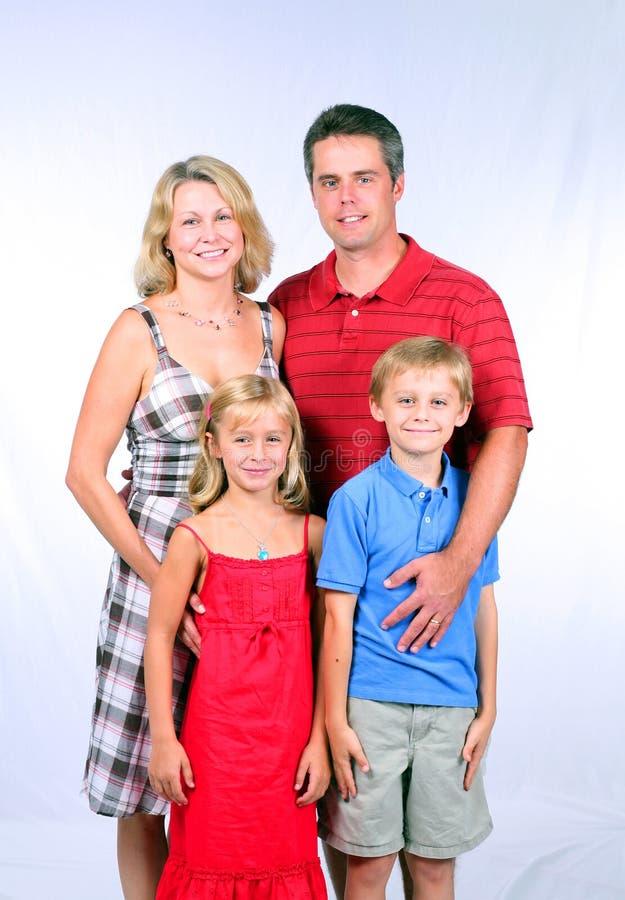 семья самолюбивая стоковые изображения