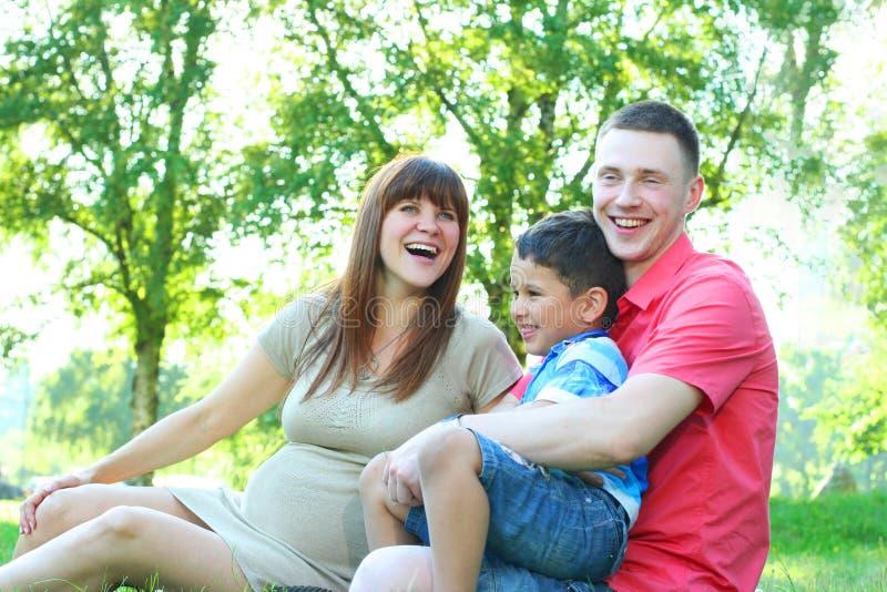 семья смешная стоковое фото