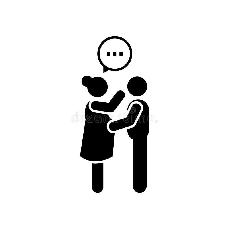 Семья, счастливая, супруг, беременный значок Элемент значка материнства r r бесплатная иллюстрация