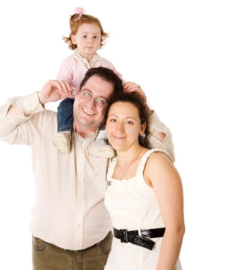 Download семья счастливая стоковое фото. изображение насчитывающей группа - 17606126