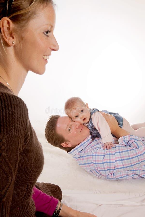 семья счастливые 3 стоковые изображения rf
