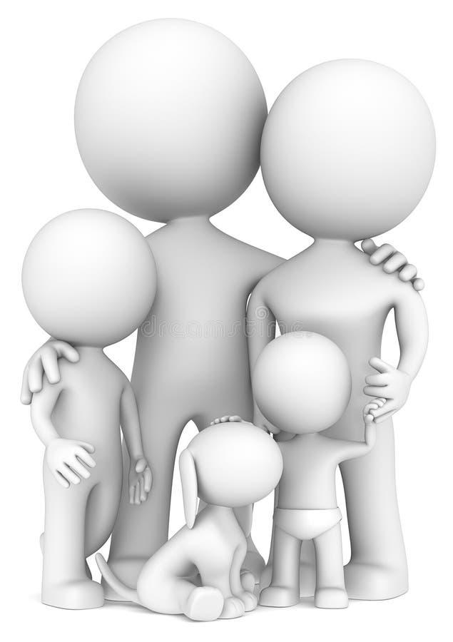 Семья. иллюстрация вектора