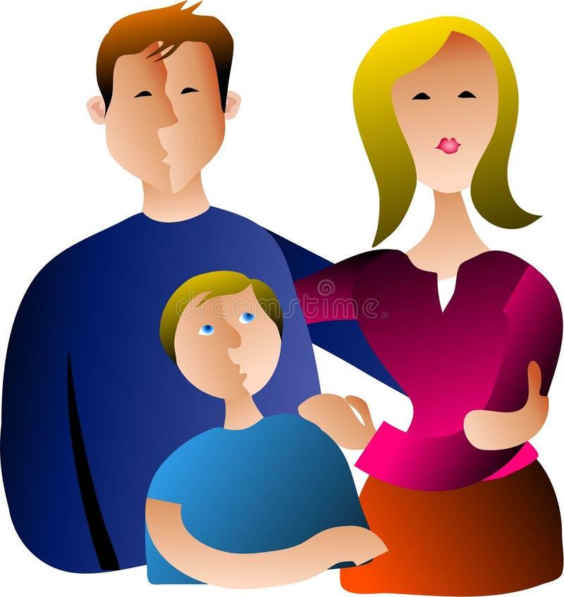 Download семья иллюстрация вектора. иллюстрации насчитывающей стороны - 83057