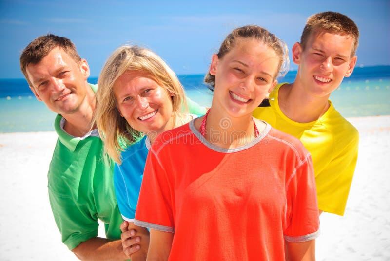 семья cancun стоковая фотография rf