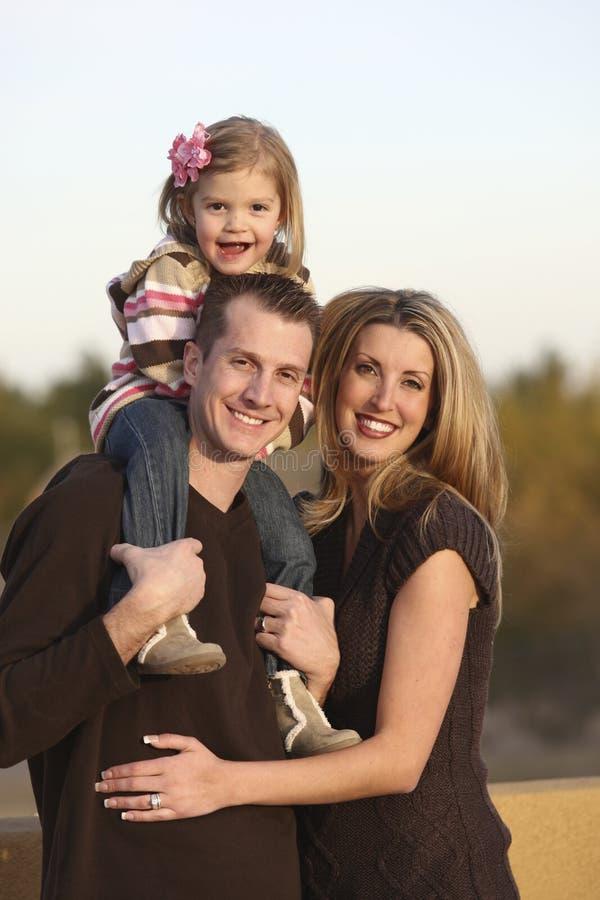 семья outdoors стоковое изображение
