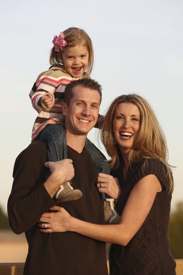 семья outdoors стоковое изображение rf
