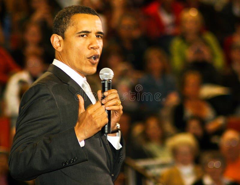 сенатор obama barack стоковые фото