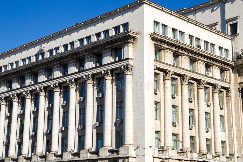 Сенат дворца архитектуры, в настоящее время Министерство Внутренних Дел стоковое фото rf