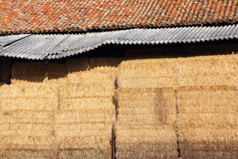 сеновал сена стоковые фотографии rf
