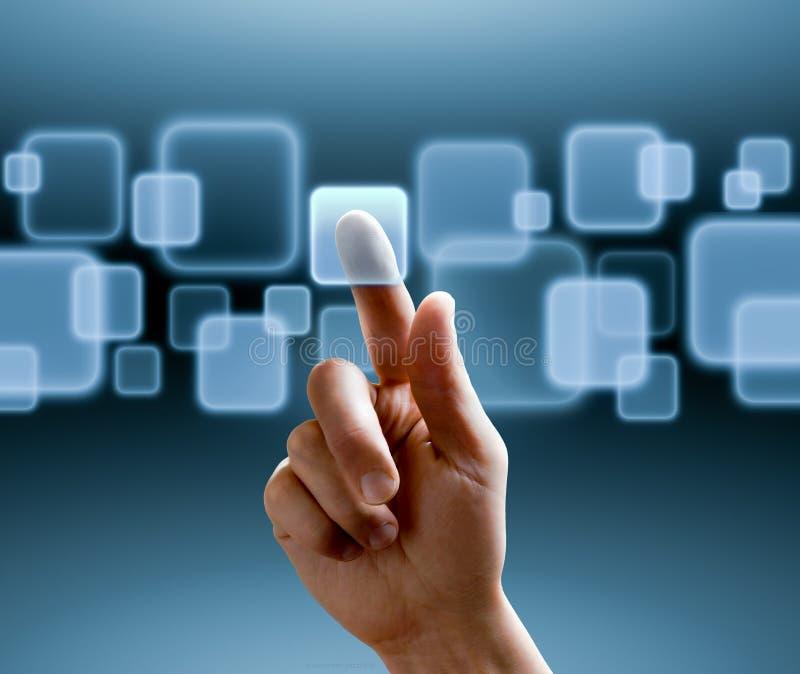 сенсорный экран интерфейса стоковые изображения