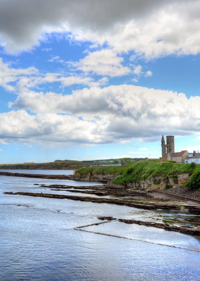 Сент-Эндрюс, Шотландия стоковые изображения