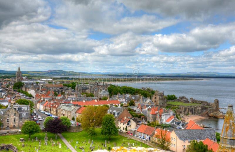 Сент-Эндрюс, Шотландия стоковые изображения rf