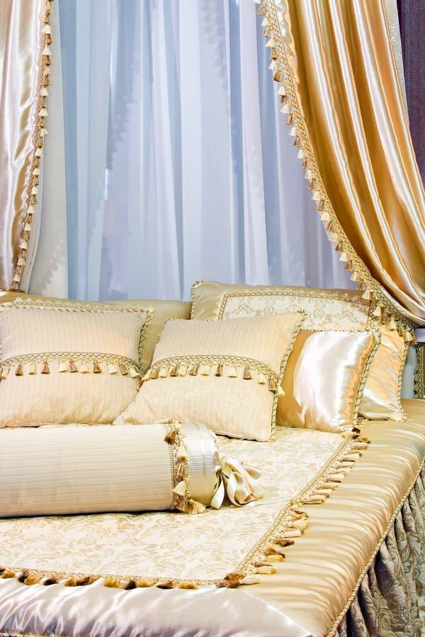 сень кровати стоковое фото