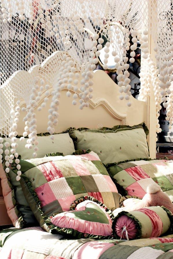 сень кровати стоковые фото
