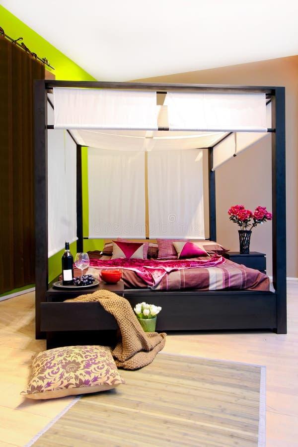 сень спальни стоковое изображение