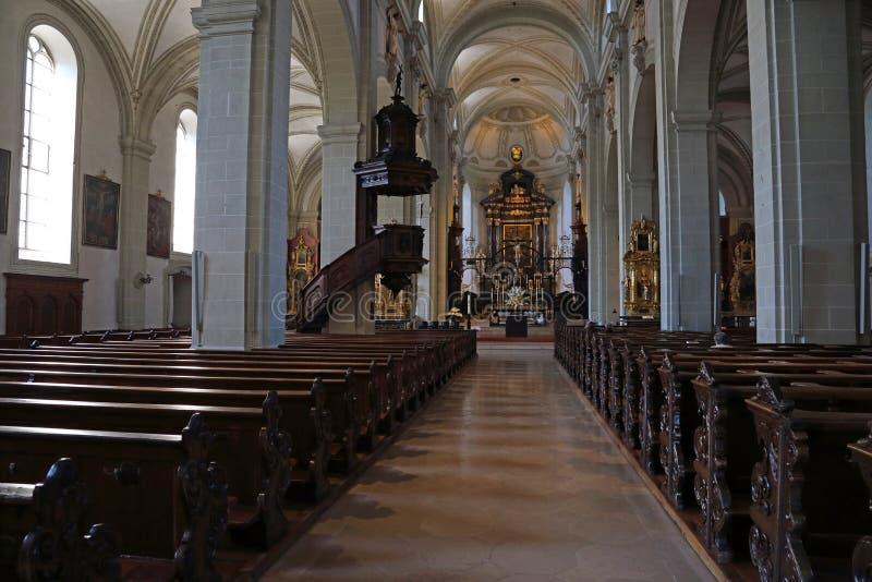 Сен-Леодегар стоковое изображение rf