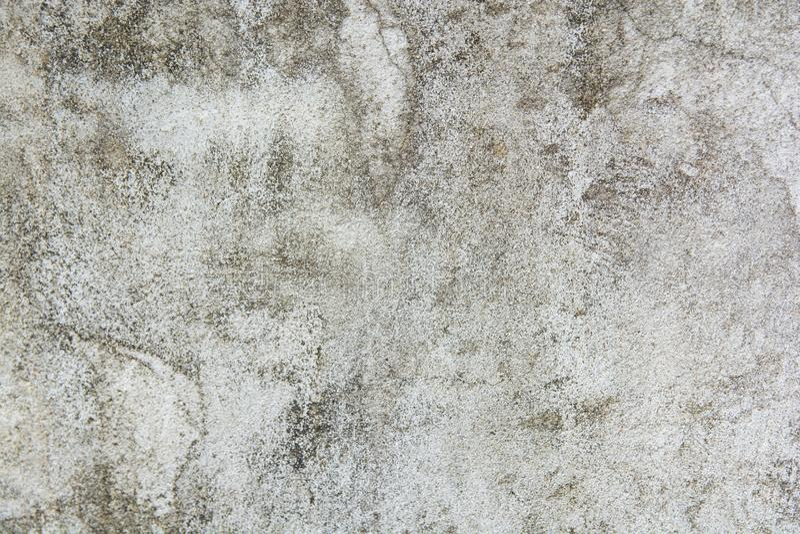Серая бетонная стена, серый конкретный пол, грязная серая текстура и предпосылка отказа пола цемента стоковое фото