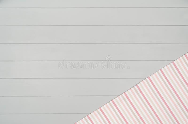 Серая деревянная предпосылка текстуры пола Горизонтальная картина планки Взгляд сверху стоковые изображения rf