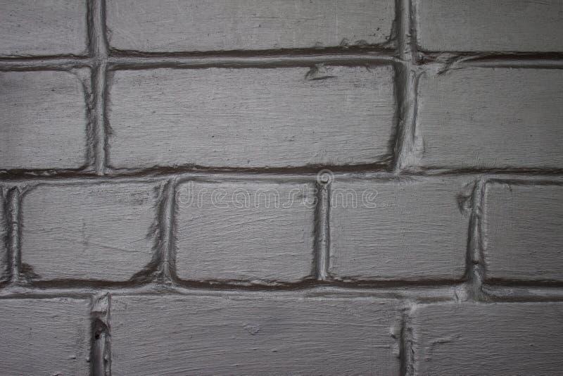 Серая и серебряная кирпичная стена, улучшает как предпосылка стоковое изображение rf