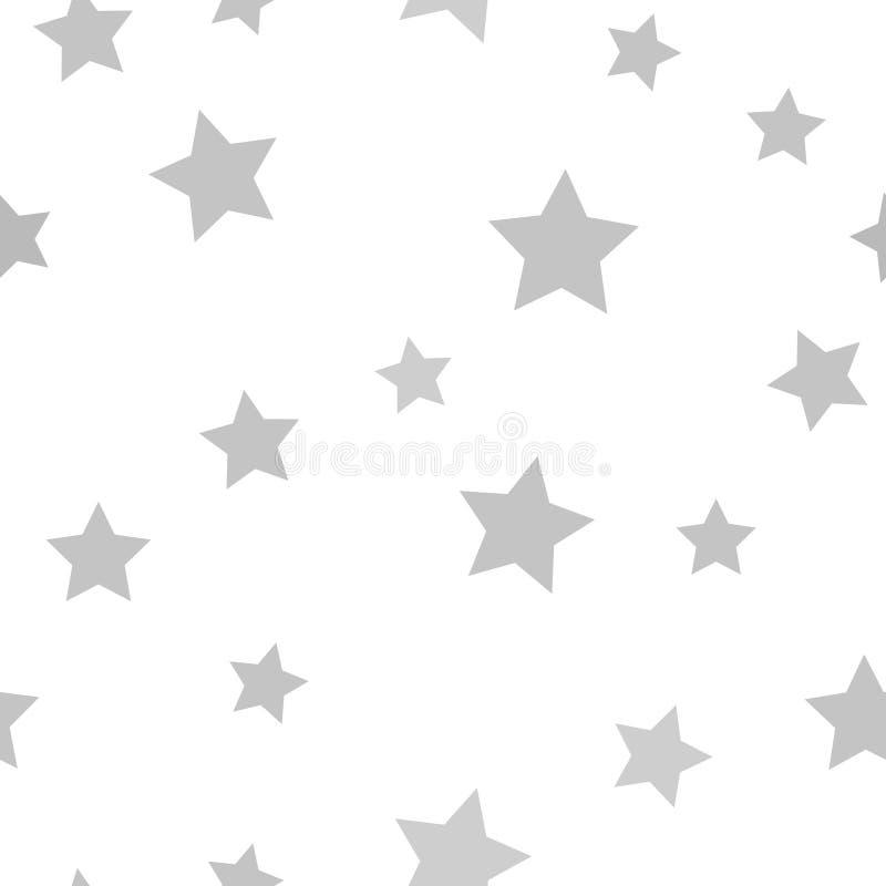 Серая картина звезды 1866 основали вектор вала постепеновского изображения Чюарлес Даршин безшовный бесплатная иллюстрация