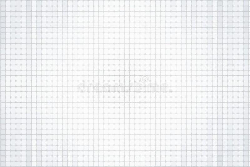 Серая предпосылка в небольшой клетке Плитка, мозаика бесплатная иллюстрация
