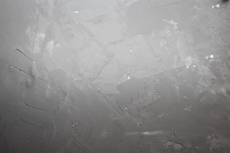 Серая предпосылка, имеет возникновение бетона, сделанное для киносъемки и стрельбы вопроса стоковое фото