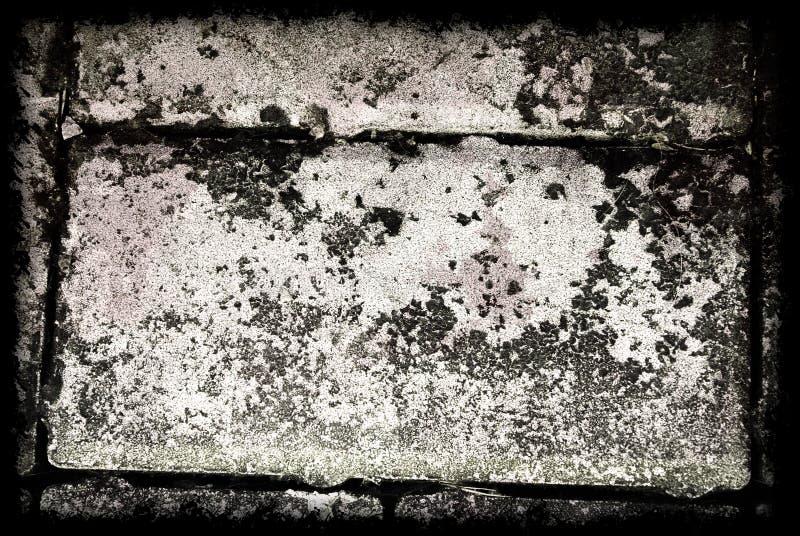 Серая предпосылка конспекта Grunge с границей стоковая фотография rf
