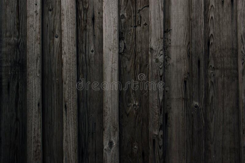 Серая старая текстура стены бревенчатой хижины Деревянная текстура черная деревенская стена журнала дома Горизонтальная Timbered  стоковое фото rf