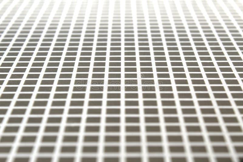 Серая текстура квадратов и белые линии стоковое фото rf