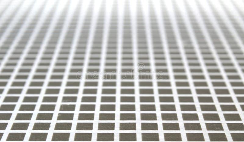 Серая текстура квадратов увиденная в перспективе стоковые изображения rf