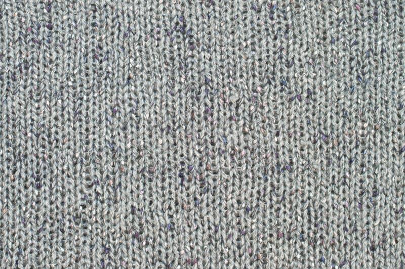 Серая текстура knit стоковые изображения