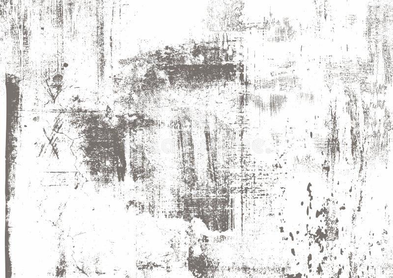 Серая Grunge царапины городская, белая, черная предпосылка Текстура дистресса для вашего дизайна Предпосылка вектора городская Пр иллюстрация штока