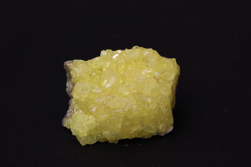 сера кристаллов стоковые фотографии rf