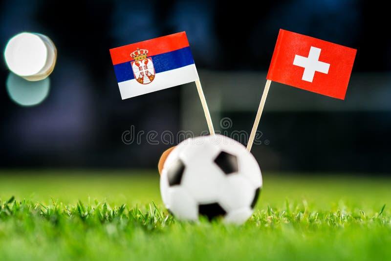 Сербия - Швейцария, группа e, Friday, 22 Футбол -го июнь, мир стоковые изображения rf