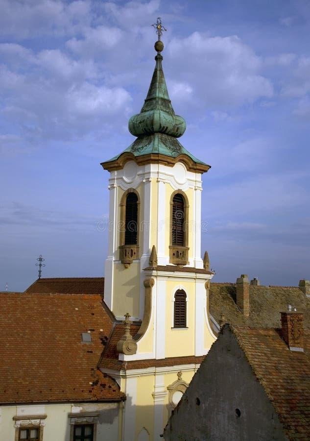 Сербская православная церков церковь, Szentendre, Венгрия стоковые фотографии rf