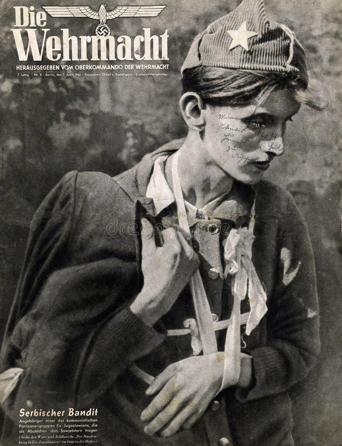 Сербский пленник стоковые изображения