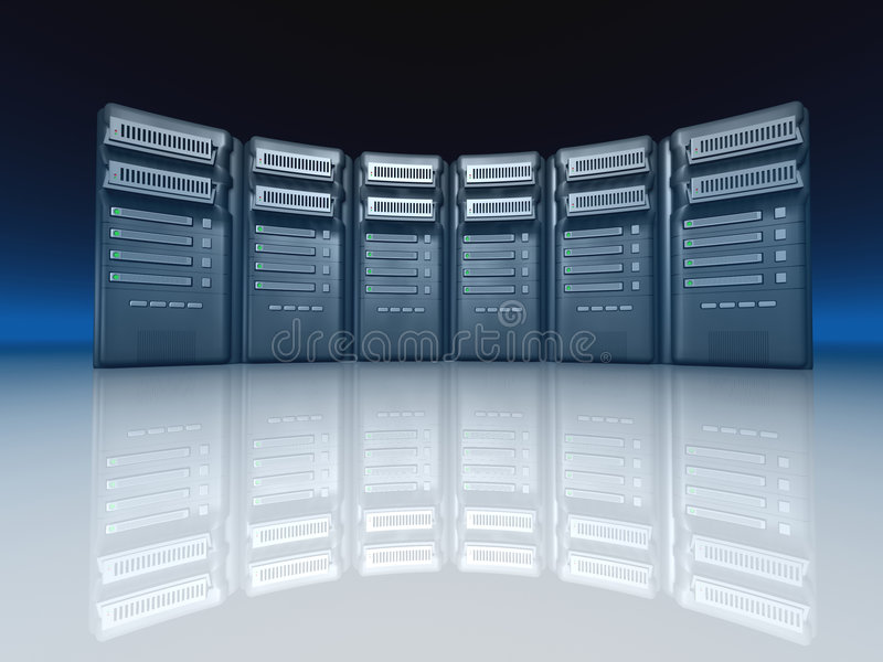 серверы бесплатная иллюстрация