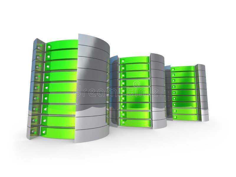 серверы 3d Стоковое Фото