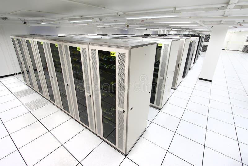 сервер комнаты стоковое фото rf