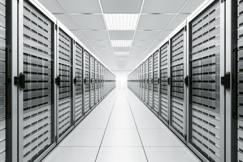 сервер комнаты иллюстрация вектора